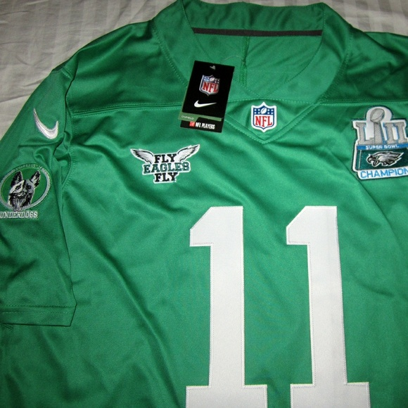 newest afb05 cf032 Eagles Wentz / Foles Combo Superbowl Champs Jersey NWT
